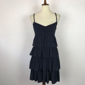 J. Crew Knit Stretch Tiered Tank Dress D763